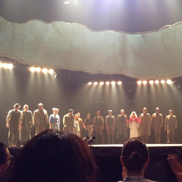 Experienced the unforgettable Broadway stage of 'War Horse'.